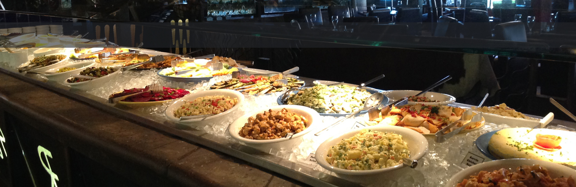 Huge Salad And Appetizer Bar